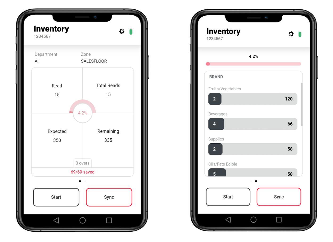Mojix Inventory app